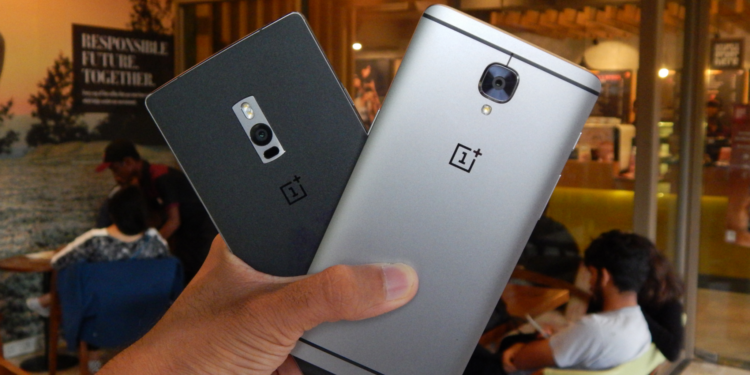 OnePlus 2 and OnePlus 3