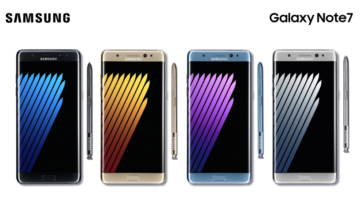 Galaxy Note 7 only came in Edge variants