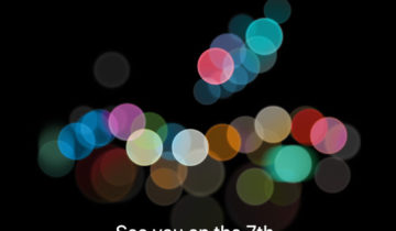 iPhone 7 Launch Event Invite
