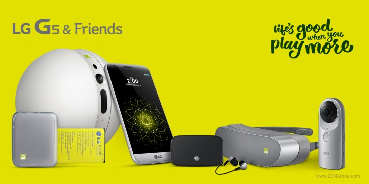 LG G5 and Friends (Image credit: Gsmarena)