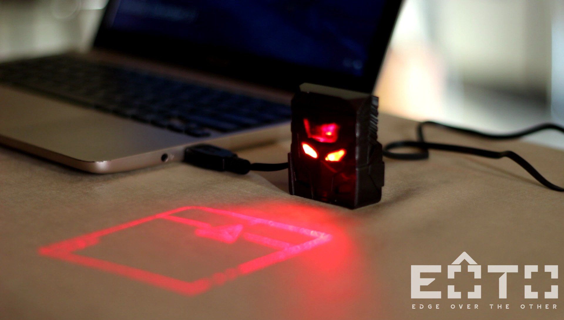 Review Odin Laser Projection Mouse The Future Eoto Tech